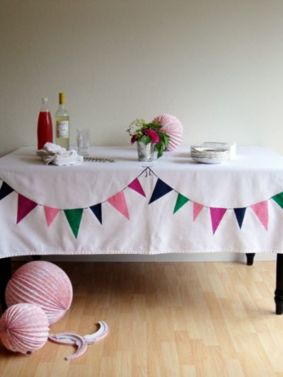 DIY Bunting Tablecloth thumbnail