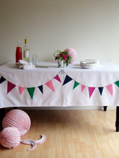 DIY Bunting Tablecloth thumbnail