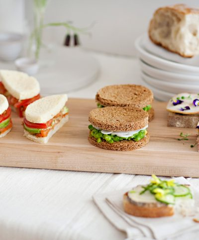Tea Sandwiches + Rosewater thumbnail
