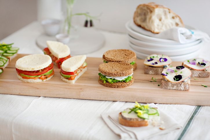Tea sandwiches rosewater the sweetest occasion the sweetest