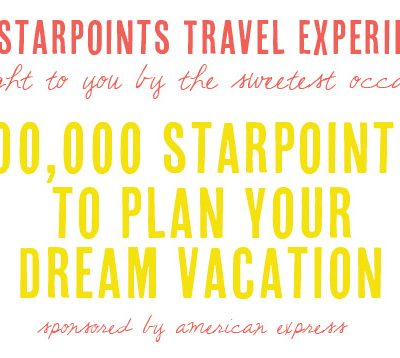 Giveaway: SPG Starpoints Travel Experience thumbnail