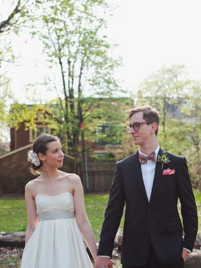 Melinda + Chris: A Pretty Indie Wedding thumbnail