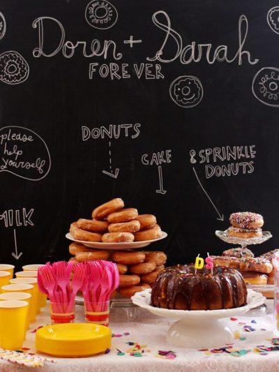 A Donut Themed Wedding Shower thumbnail