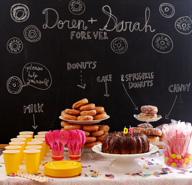 A Donut Themed Wedding Shower The Sweetest Occasion