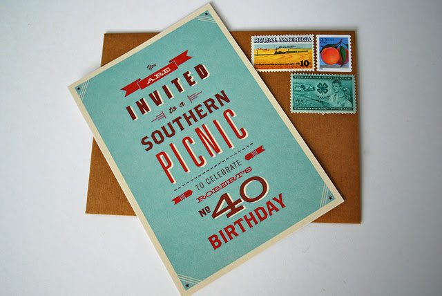 40th birthday party invitations the sweetest occasion the