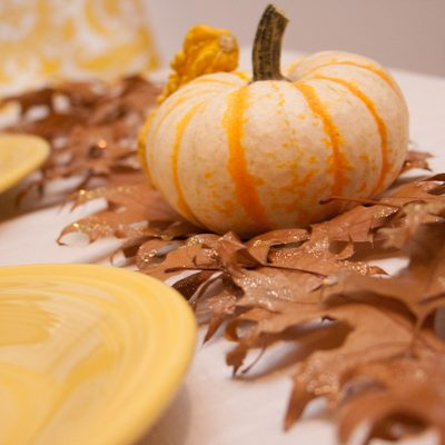 DIY Autumn Leaves Table Runner thumbnail