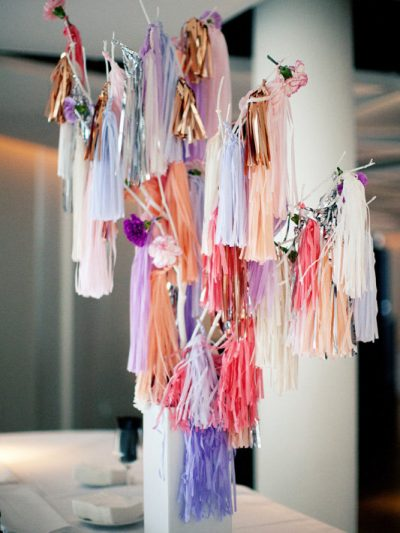 Pretty in Pink (And Purple) Wedding Style thumbnail