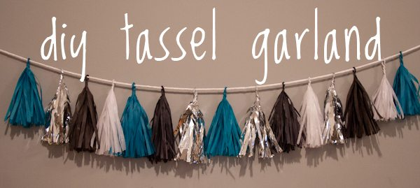 Diy Tassel Garland The Sweetest Occasion