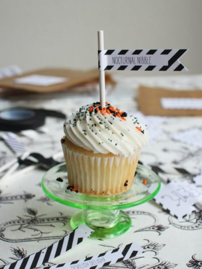 Halloween Printables + a Black Flag DIY thumbnail
