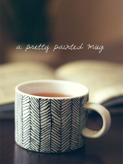DIY Hand Painted Mug thumbnail