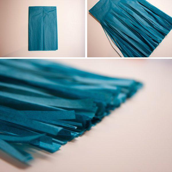 Как сделать кисточки из бумаги