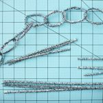 diy tinsel garland