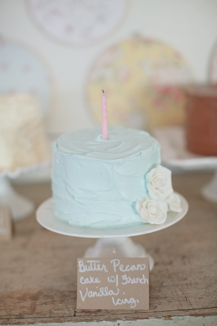Smash Cake Ideas For First Birthday : A Shabby Chic First Birthday Party - The Sweetest Occasion