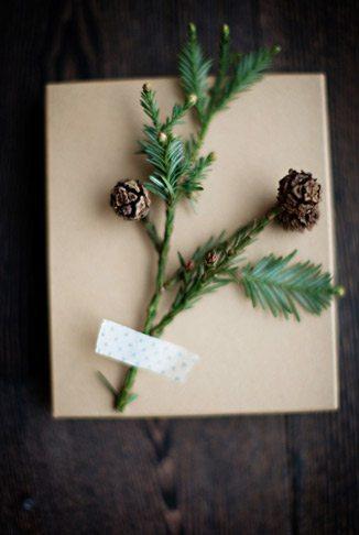 Gift Wrapping: Kraft, Pine + Twine thumbnail