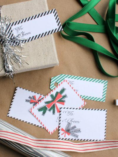 Festive Printable Gift Tags thumbnail