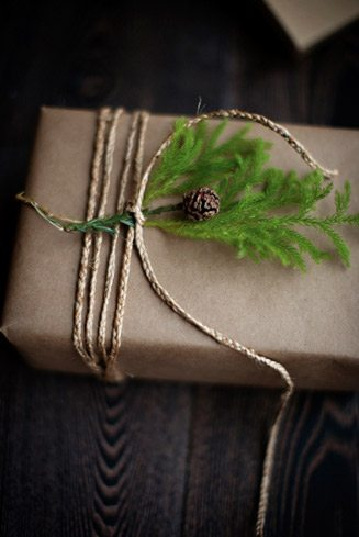 Gift Wrapping Kraft Pine Twine The Sweetest Occasion