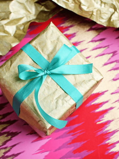 Funky + Bright Gift Wrap Ideas thumbnail