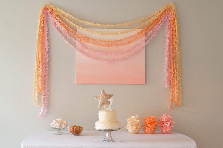 Handmade Confetti First Birthday - The Sweetest Occasion