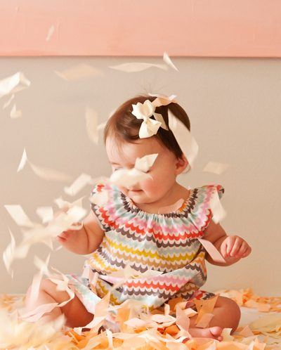 A Handmade Confetti First Birthday thumbnail