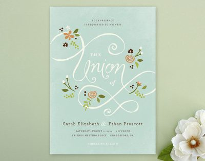 Wedding Stationery from Minted thumbnail