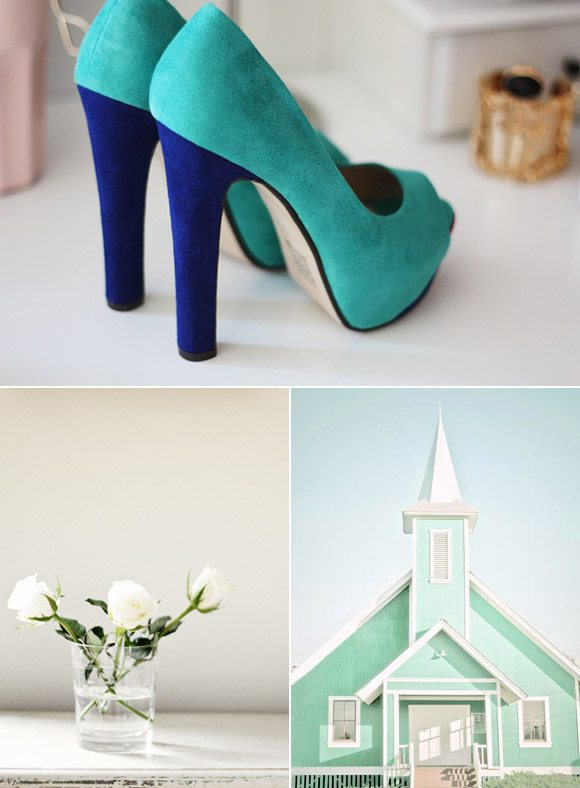 aqua-blue-cobalt-wedding-colors - The Sweetest Occasion ...