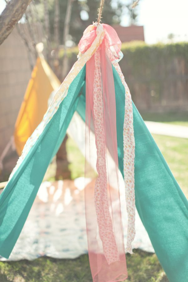 backyard teepee the sweetest occasion the sweetest