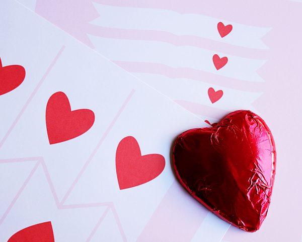 heart valentines printable 3