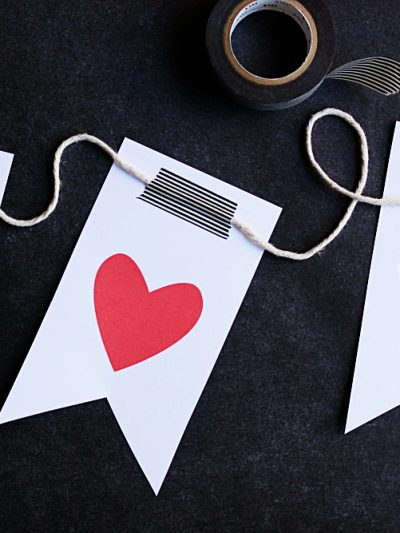 I Heart You Valentine Printables thumbnail