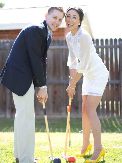 Diana + Benjamin: A Citrusy Backyard Reception thumbnail