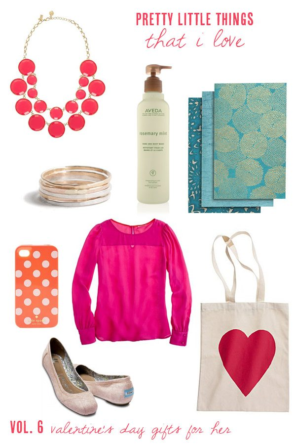 Pretty little things that i love vol 6 the sweetest for Best valentine gifts for her