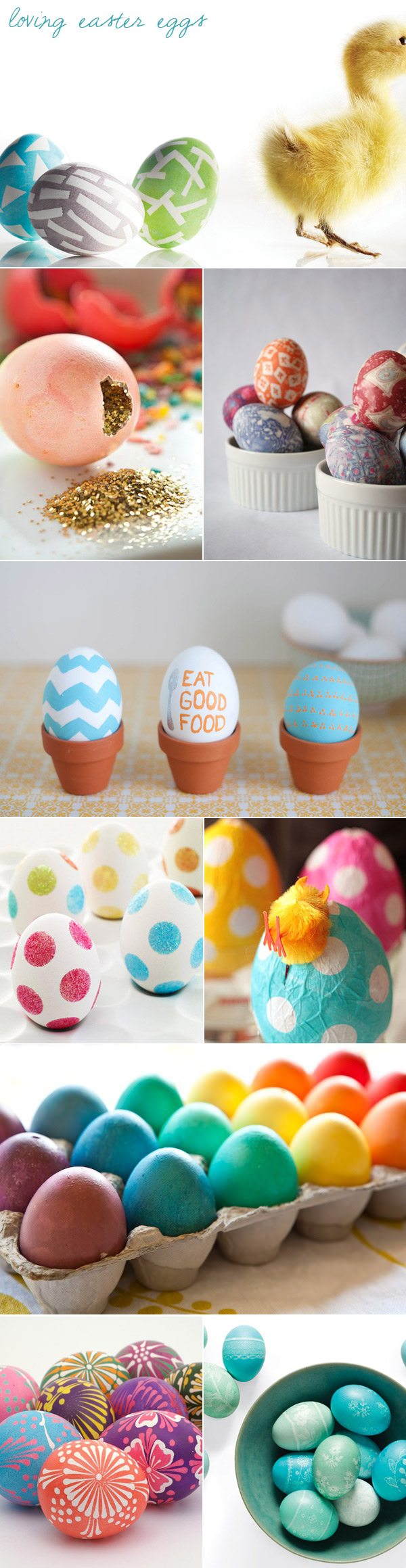 52 Easy Egg Decorating Ideas to Get You Egg-cited for Easter. Go beyond the traditional dyed eggs with these truly creative Easter egg ideas.