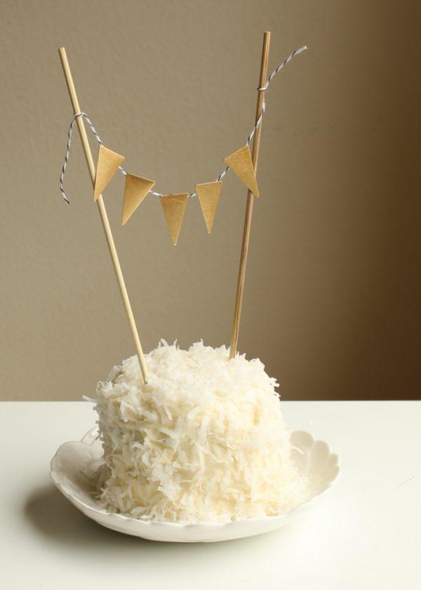 diy metal cake bunting c