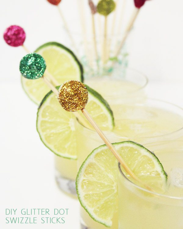 http://www.thesweetestoccasion.com/2012/04/diy-glitter-dot-swizzle-sticks/