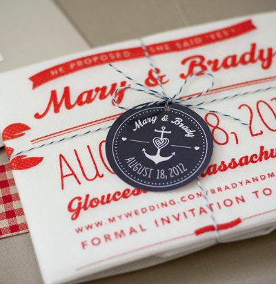 Lobster Bib Save the Dates thumbnail