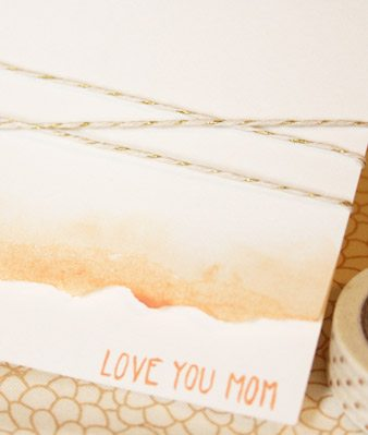 DIY Watercolor Mothers Day Card thumbnail