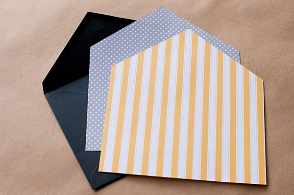 Diy Envelope Liners  The Sweetest Occasion
