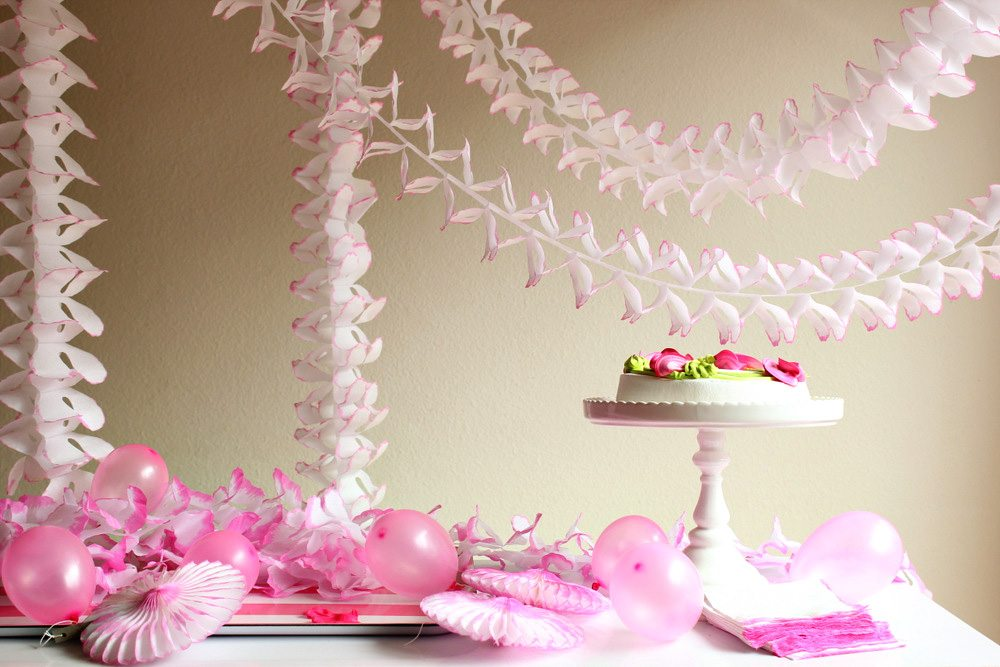 diy dip dye party decor - The Sweetest Occasion — The Sweetest