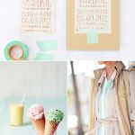 Party Palette: Mint + Sugar Cone