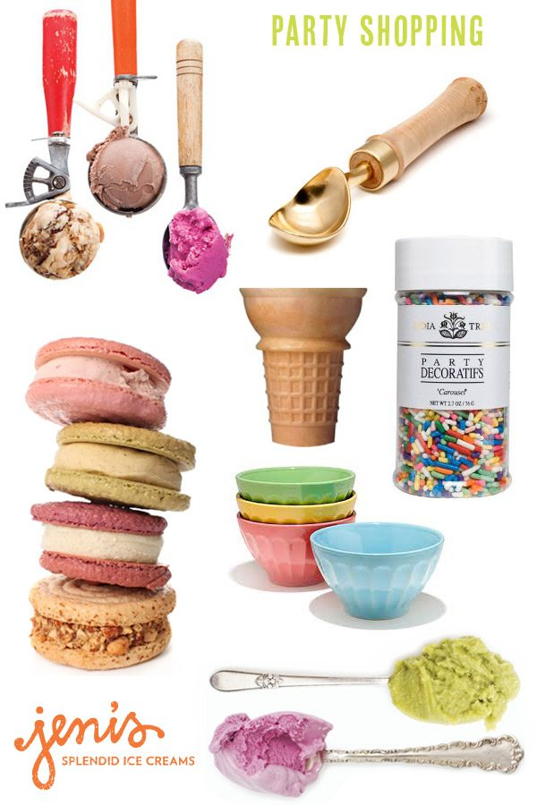 Ice cream social ideas from The Sweetest Occasion