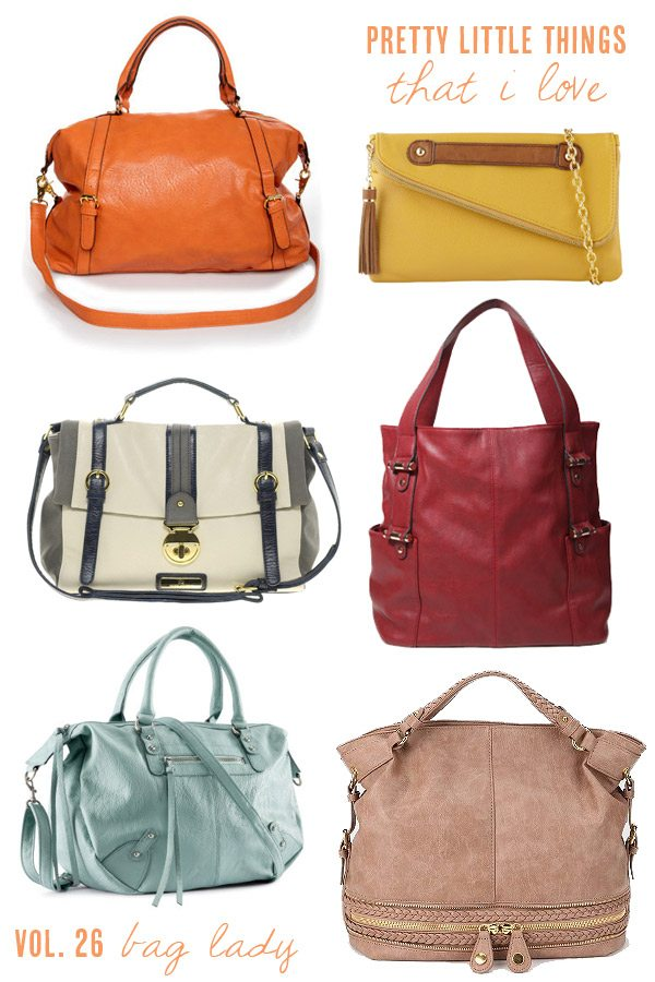 Pretty handbags perfect for fall from The Sweetest Occasion