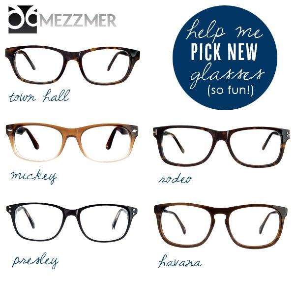 Fashionable eyewear from Mezzmer on The Sweetest Occasion
