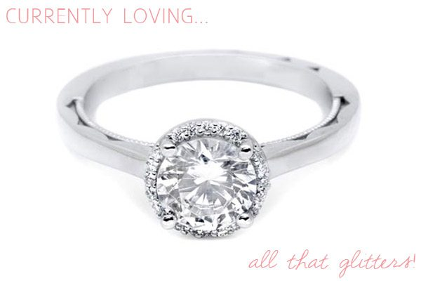 Tacori engagement rings featured on The Sweetest Occasion