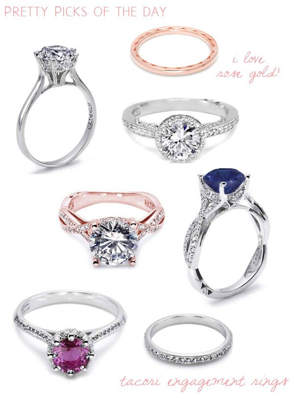 Tacori rings on The Sweetest Occasion