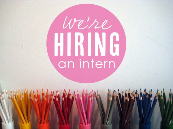 The Sweetest Occasion is hiring an intern! | Photo by Mieke Willems