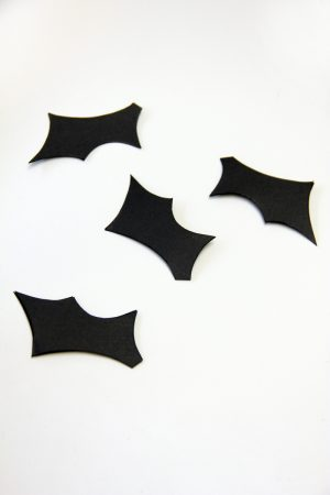 DIY Halloween Bat Garland by Studio DIY for The Sweetest Occasion