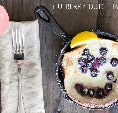 Blueberry Dutch Pancakes thumbnail