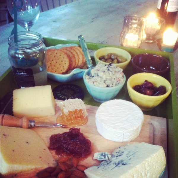 Cheeseboard yumminess! | Photo by Cyd Converse, The Sweetest Occasion