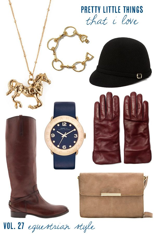 Equestrian accessories for fall from The Sweetest Occasion