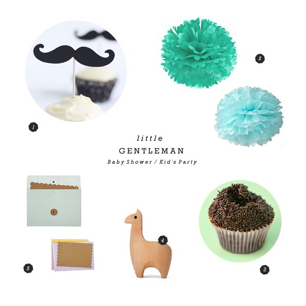 Little Gentleman baby shower ideas from Alli of Hooray for The Sweetest Occasion