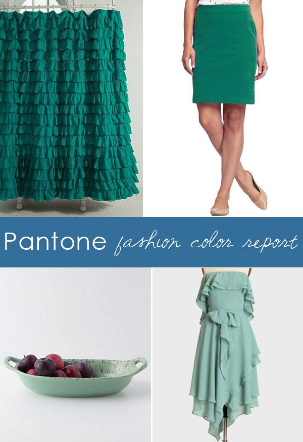 Pantone Fashion Color Report 2013 from The Sweetest Occasion